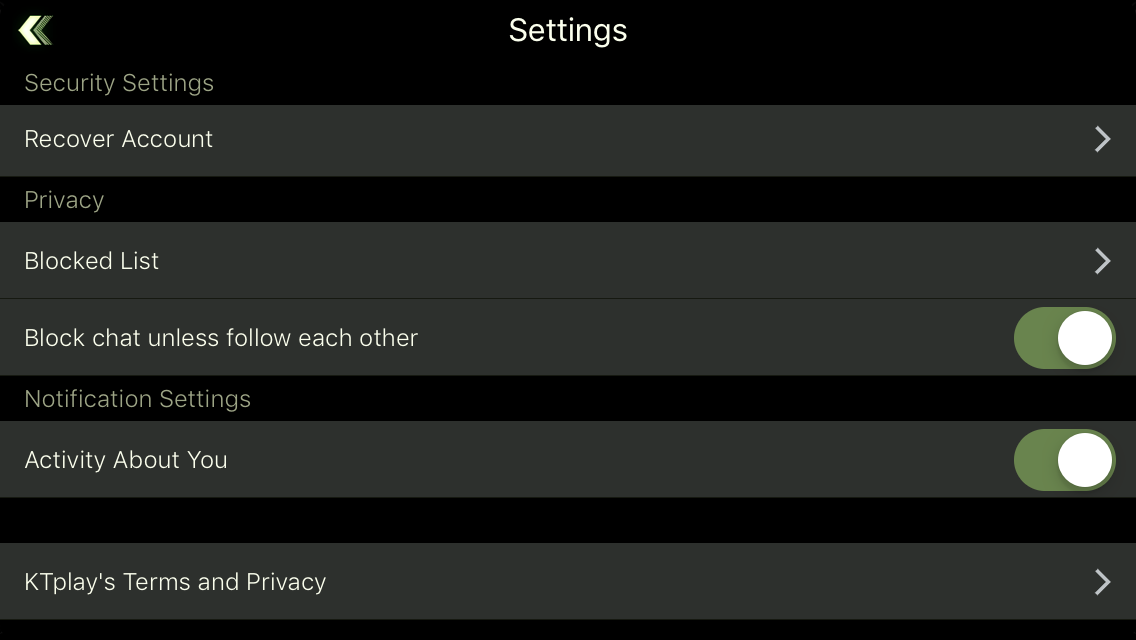 Blocked List Function 🚫