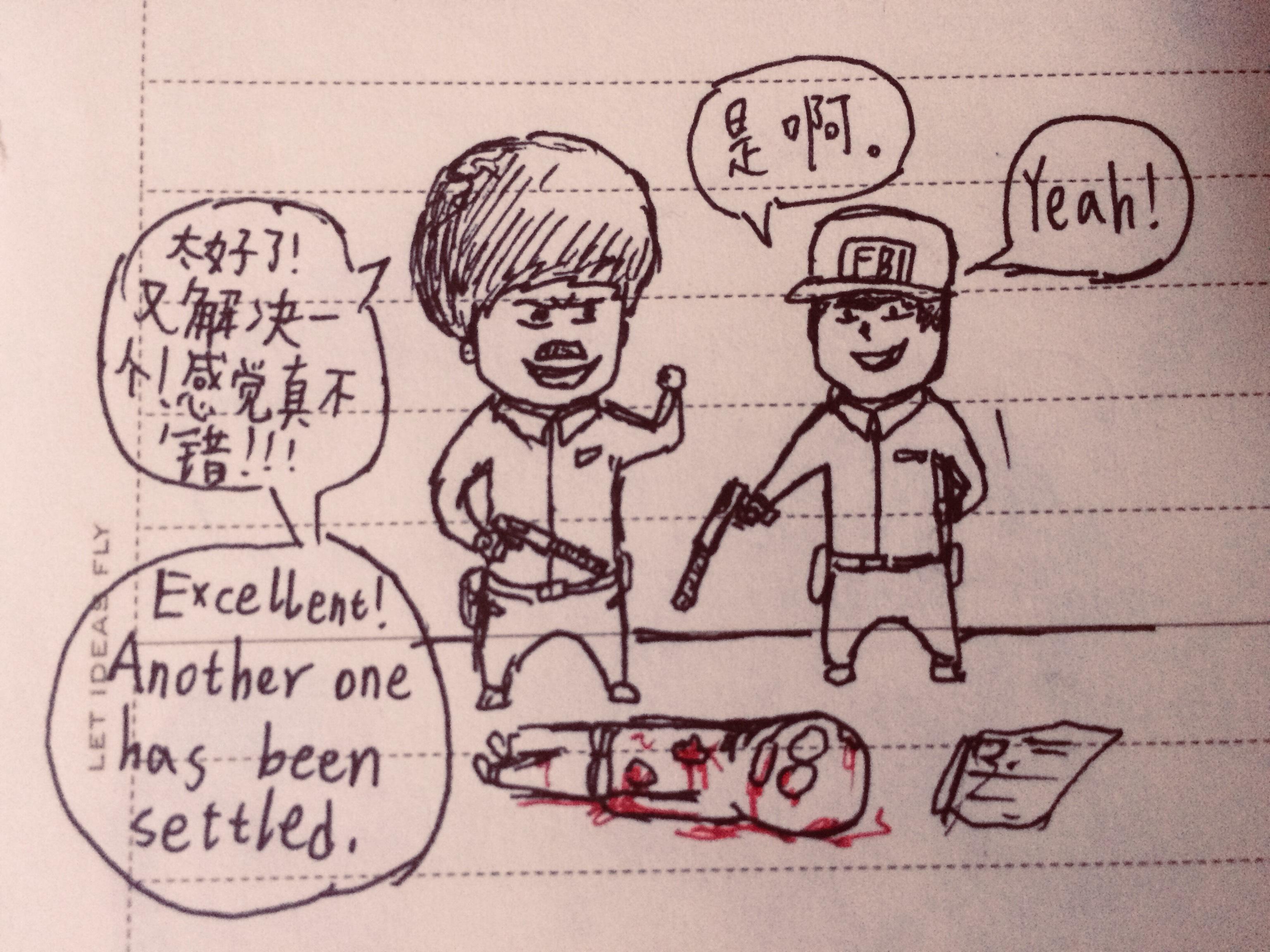 【Wulitou Cartoon】无厘头漫画