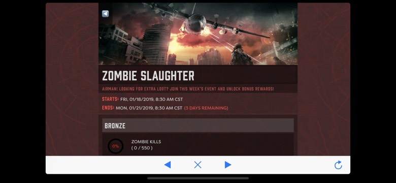 Zombie Slaughter Event
