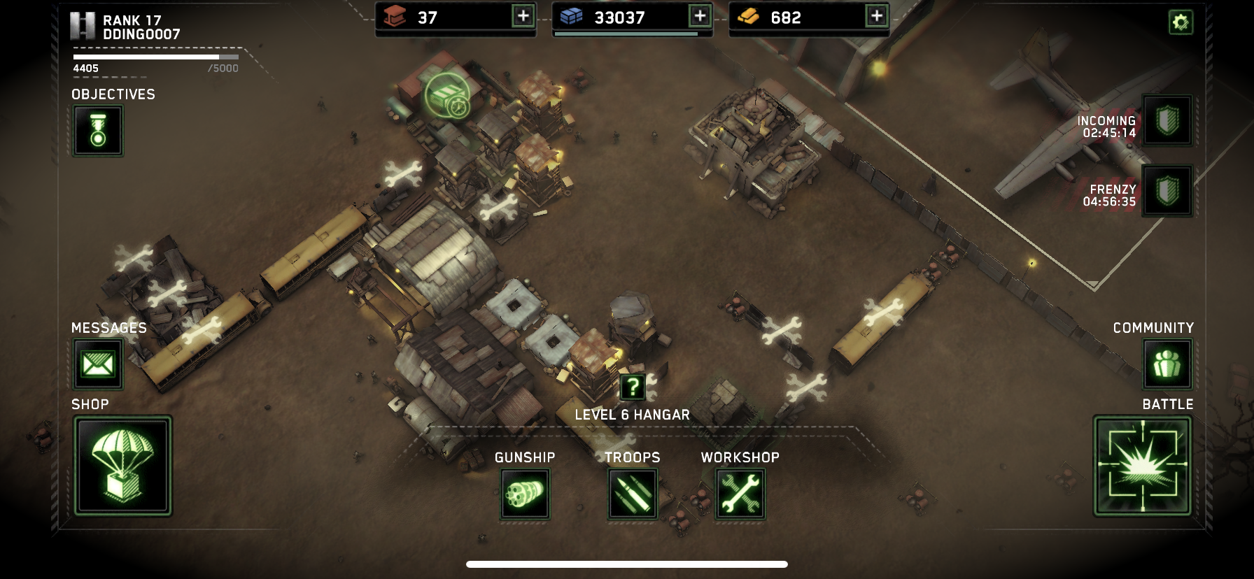 Is there a requirement to upgrade all base buildings?