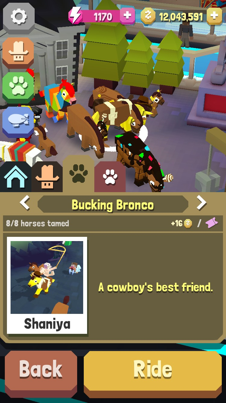 Bucking Bronco - secret horse on the great wall