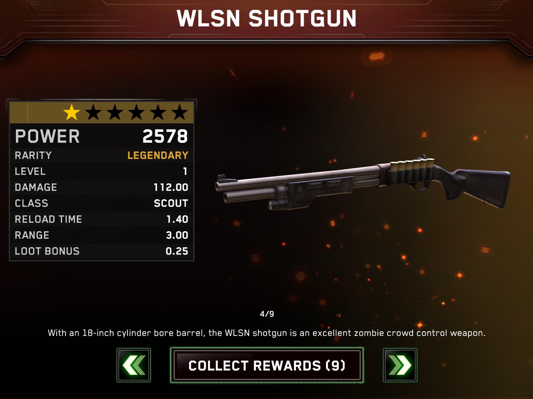 Legendary Wilson Shotgun!