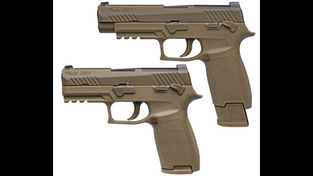 US Armed Forces New Sidearm: M17 9mm
