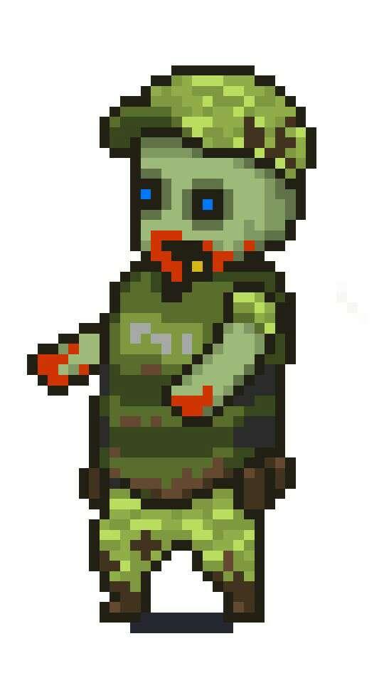 Military Comrade/Policeman reskin