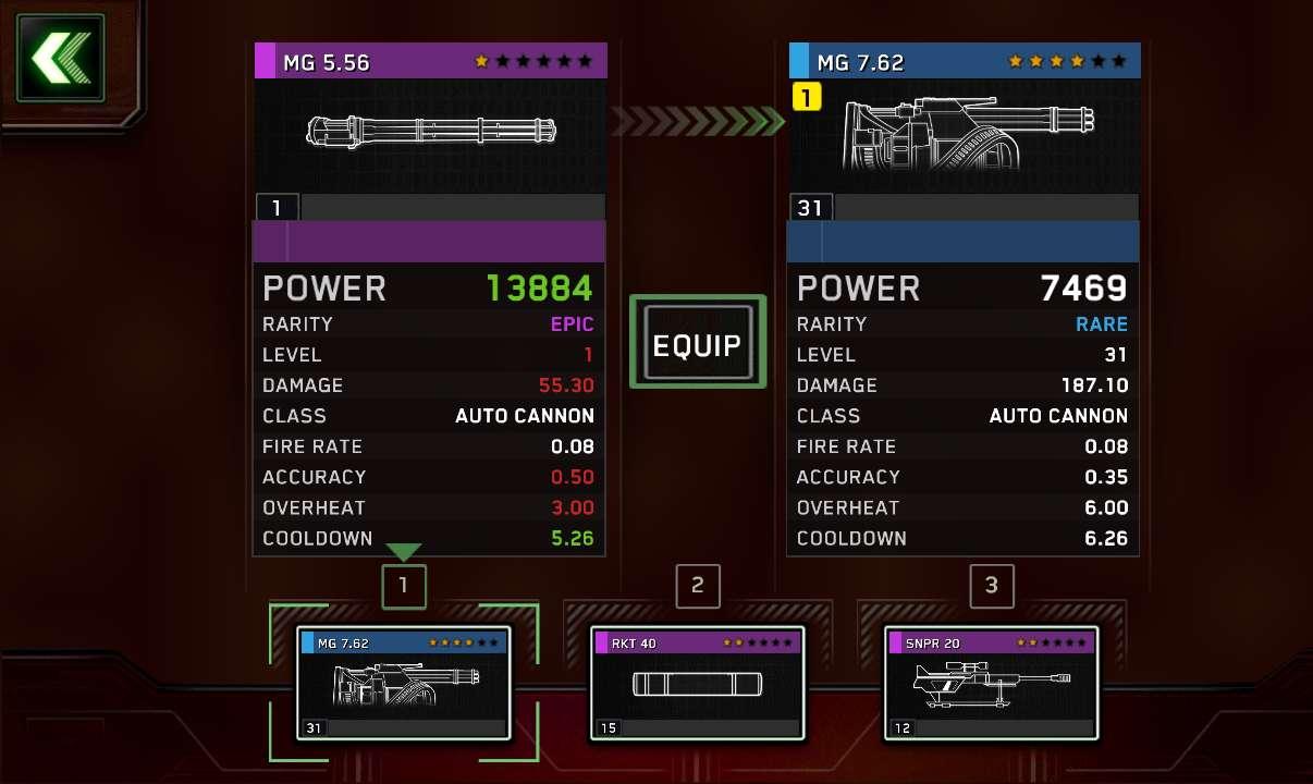 556 epic vs 762 rare