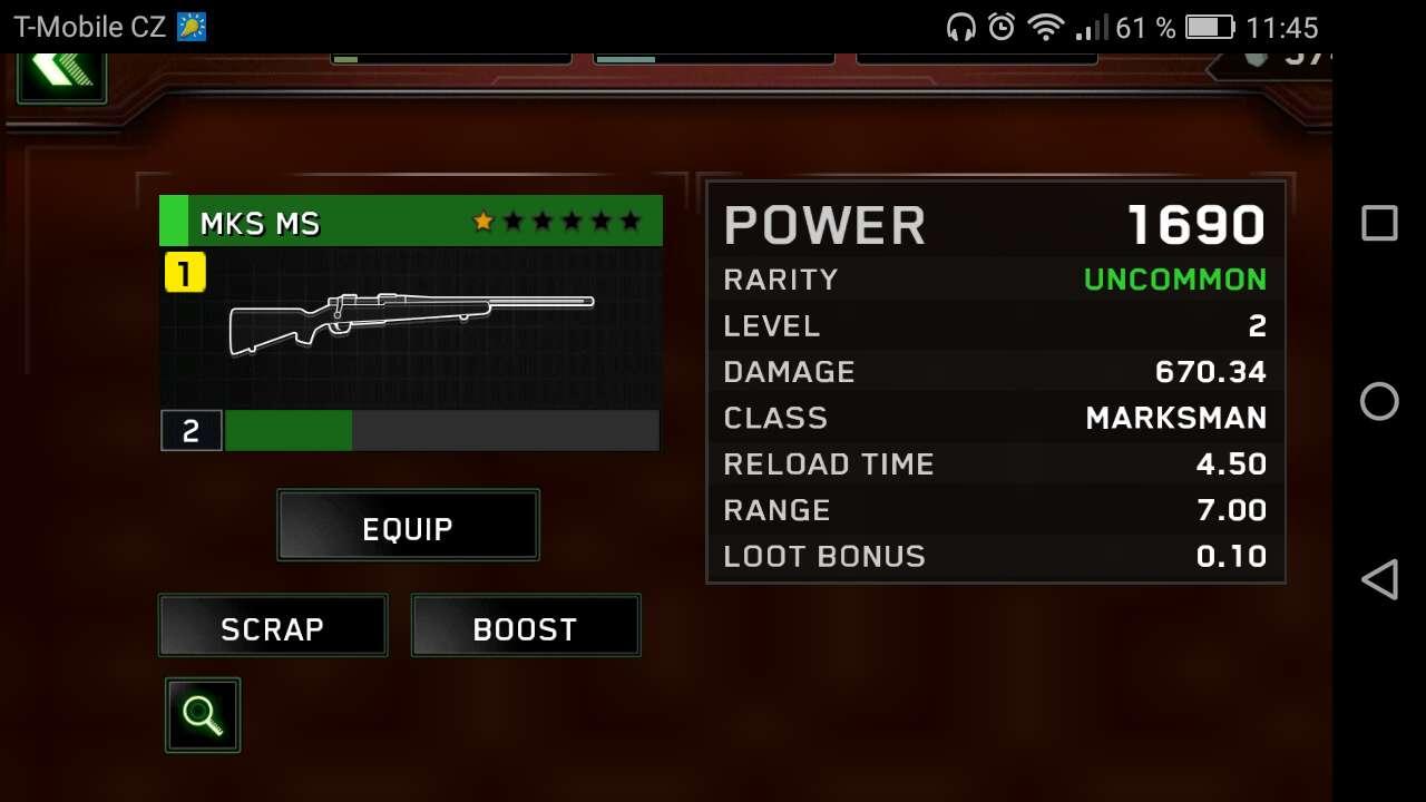 New gun for troop!