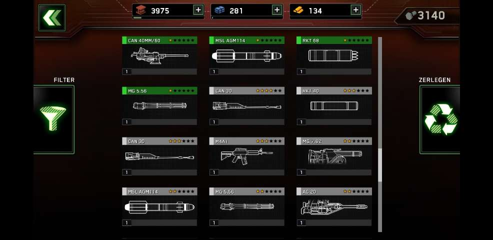 I dont get it... please Help me choose the right weapons.
