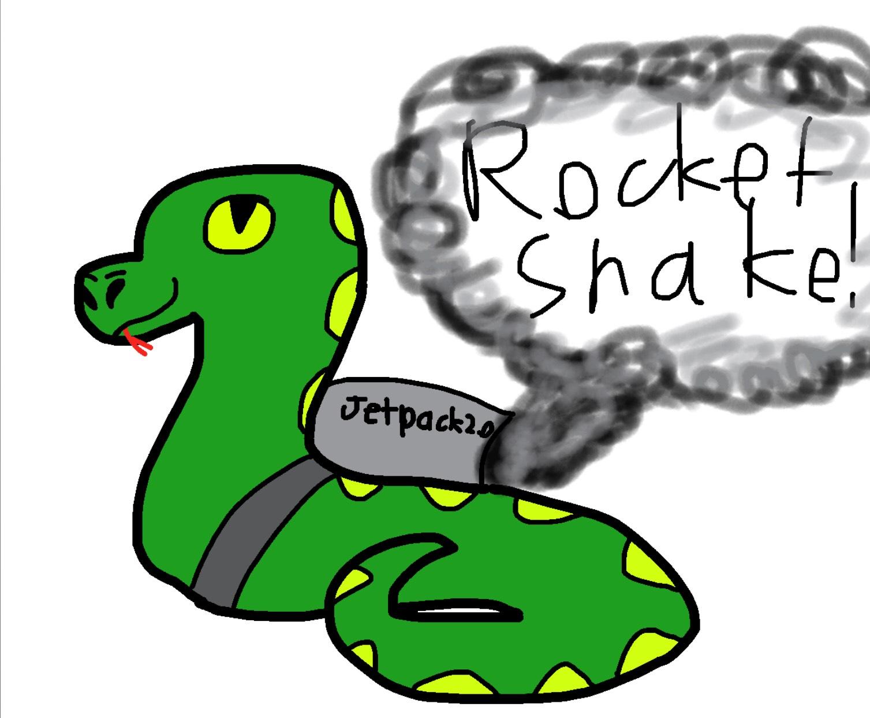 Krikey mate it's a rocket snake
