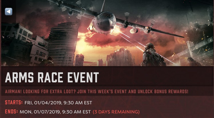 Weekend event just showed up for the US eastern time zone!