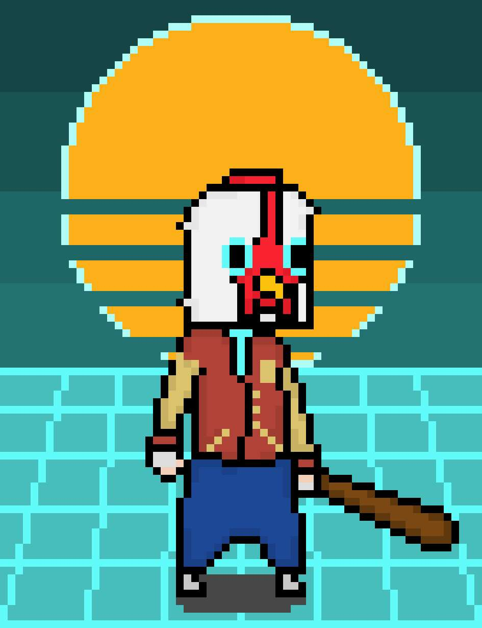 Some kind of Hotline Miami Crossover