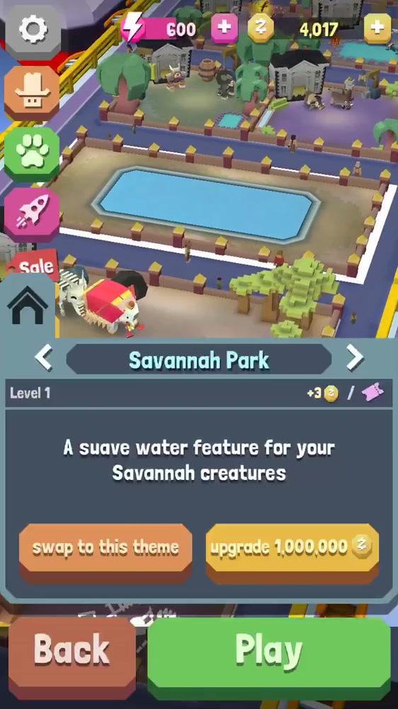 Building Savanna park!