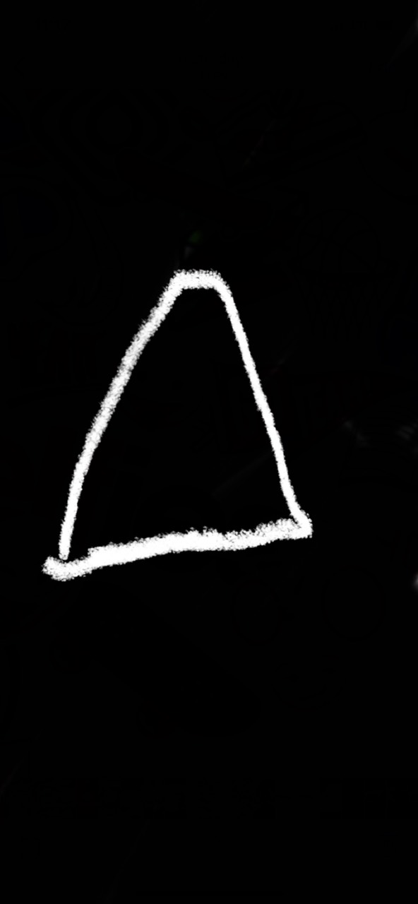 Look at this triangle it has no POINT....... being here