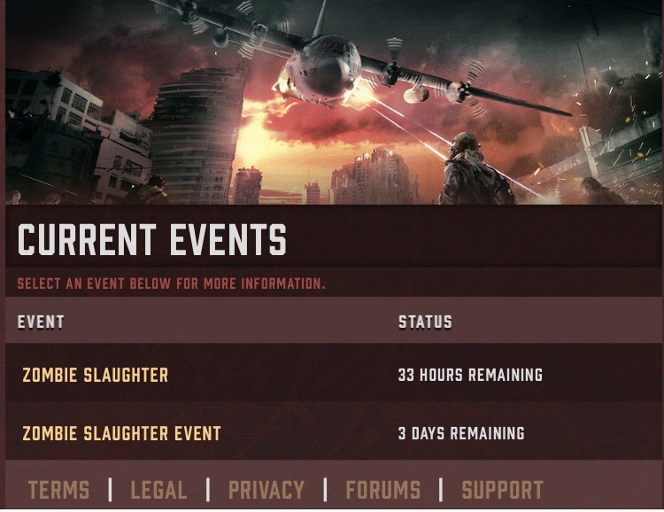 Weekend Slaughter Event! ☠️