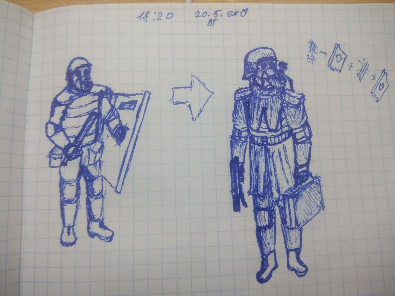 Чем отличается броня обычного солдата (Любая броне пластина от Элитной (S.H.A.D.O.W.)