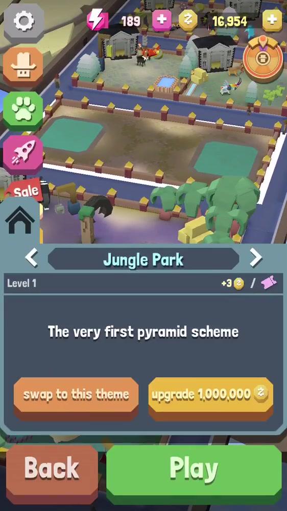 Building Jungle park!