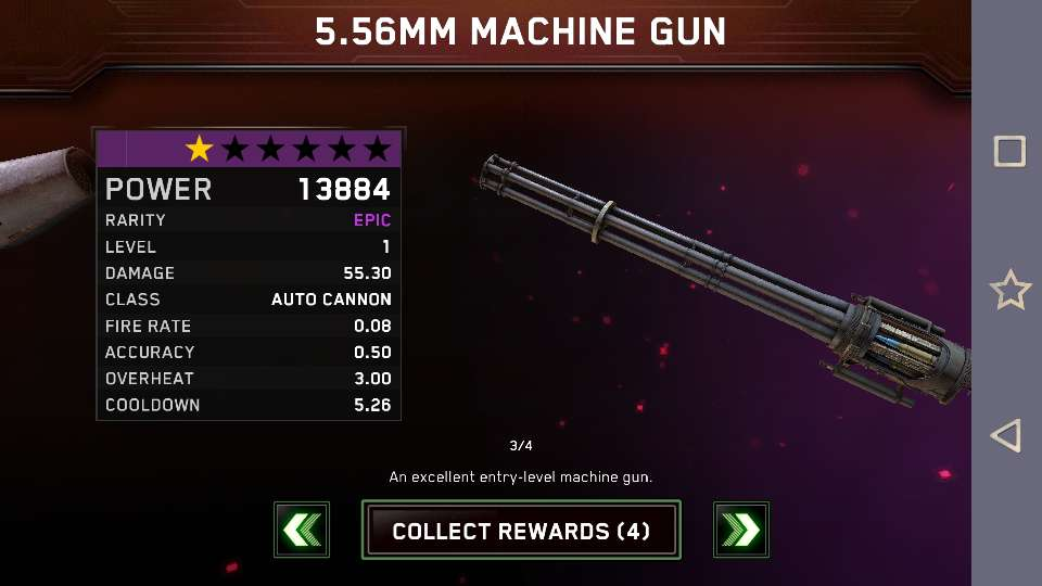 🎉My first epic 5.56mm machine gun.!!!! 🎉👌👍🔝🍇😀😉