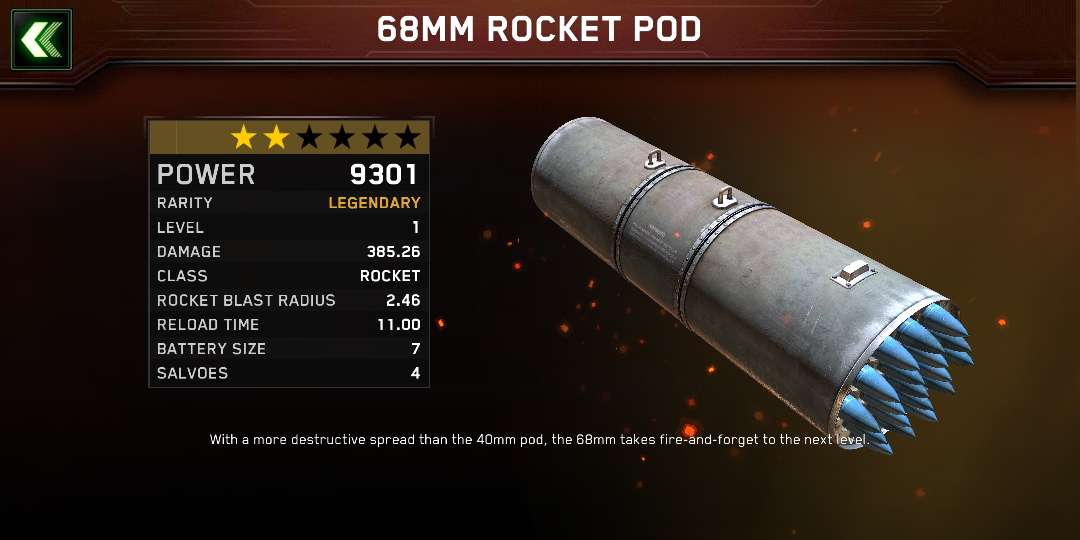 just 3 days started playing but get the worst rocket ever