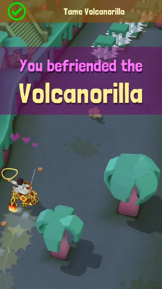 taming the Volcanorilla