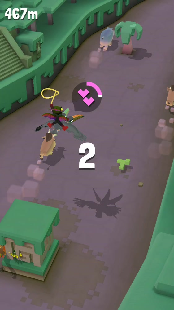 Video of how to get threecan! Jump 100m from a toucan!