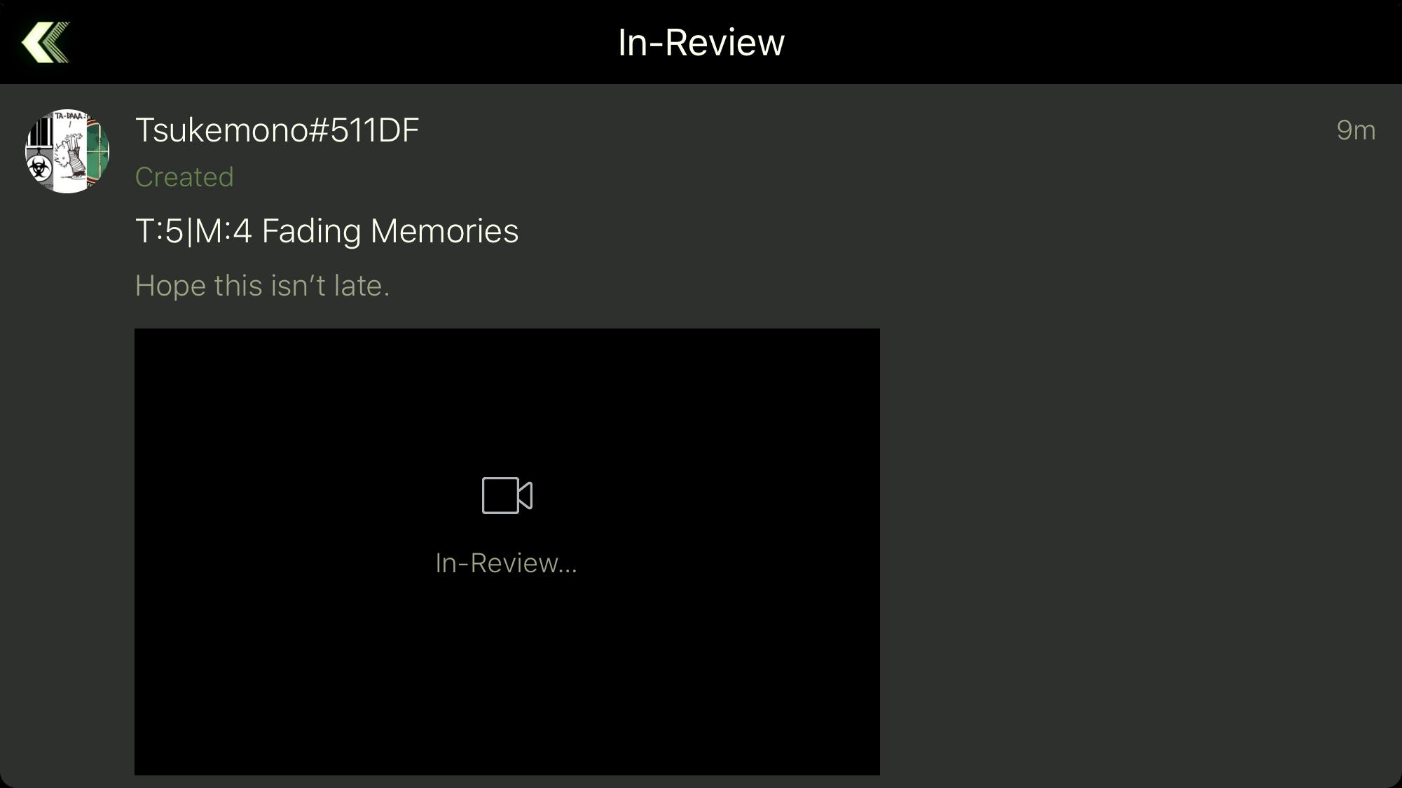 T:5 M4 Fading Memories